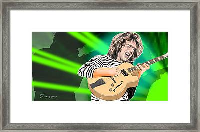 A Bright Size Life Pat Metheny Framed Print