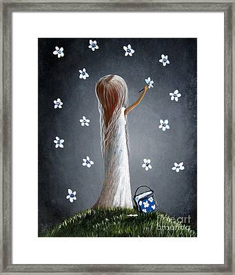 Whimsical Paintings Framed Print