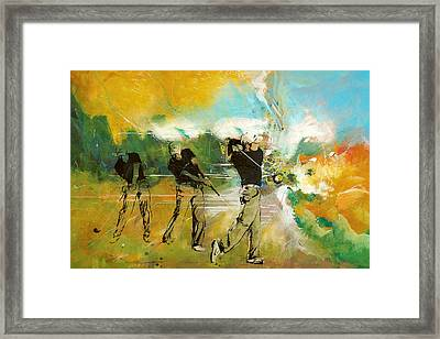 A Brilliant Shot Framed Print