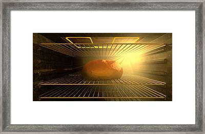 A Bun In The Oven Framed Print by Allan Swart