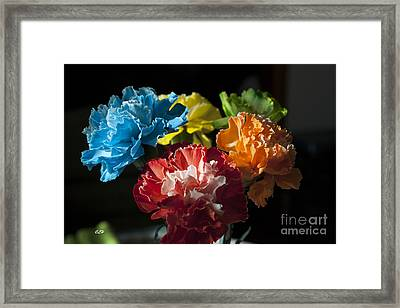 A Bunch Of Beauty Framed Print