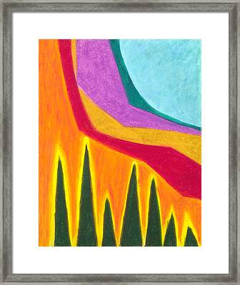 A Calming Influence Framed Print