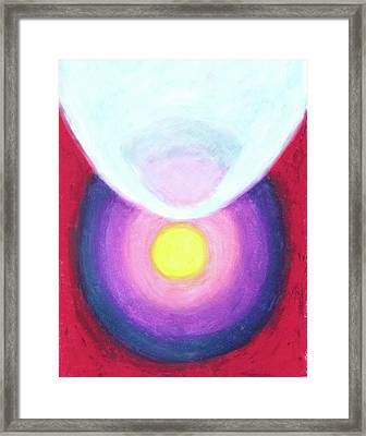 A Calming Space Framed Print