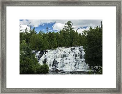 A Cascade... Framed Print