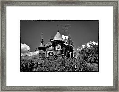 A Castle In Palouse Country Framed Print