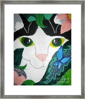 A Cat's Fancy Framed Print