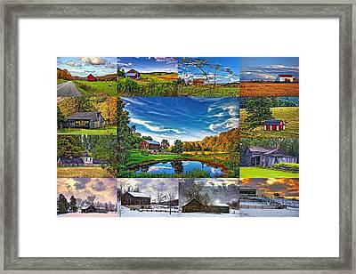 A Celebration Of Barns  Framed Print by Steve Harrington