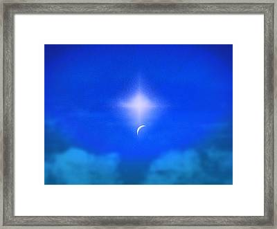 Beautiful New Day In The Heavens Framed Print by Kellice Swaggerty