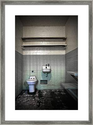 A Cell In Alcatraz Prison Framed Print by RicardMN Photography