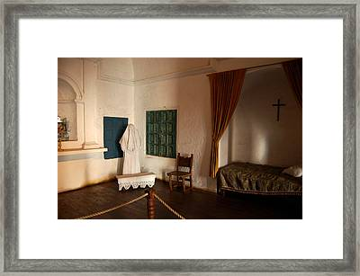 A Cell In Santa Catalina Monastery Framed Print