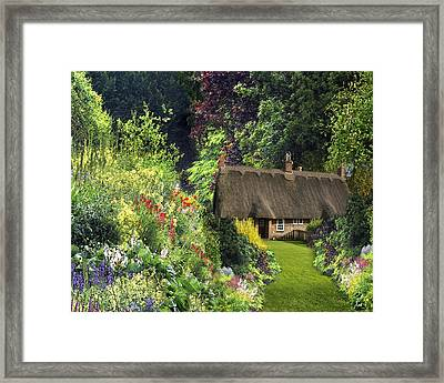 A Celtic Fairy Tale  Framed Print