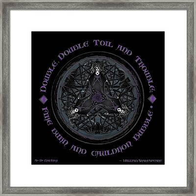 A Celtic Witches' Brew Framed Print