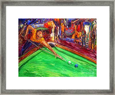 A Chance For Freedom Framed Print by Arthur Robins