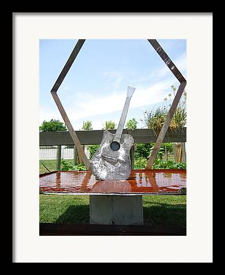 Welded Steel Water Feature Framed Prints