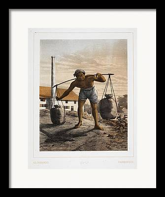Charcoal Burner Framed Prints