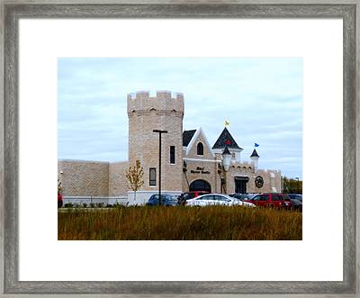 A Cheese Castle Framed Print by Kay Novy