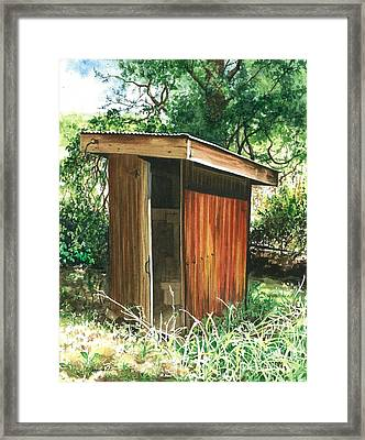 A Childhood Memory Framed Print by Barbara Jewell