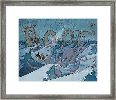 A Child's Dream 1 Framed Print by Dennis Wunsch