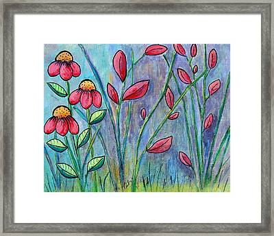 A Child's Garden Framed Print by Suzanne Theis