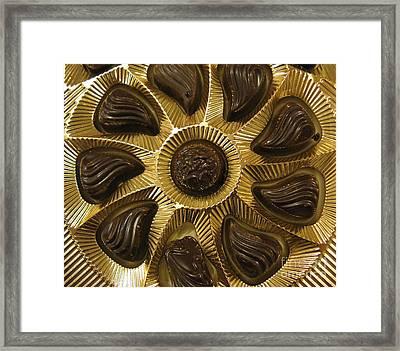 A Chocolate Sun Framed Print by Ausra Huntington nee Paulauskaite