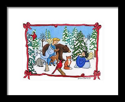 Winter Solstice Framed Prints