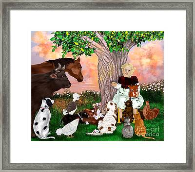 A Christmas Story In July Framed Print