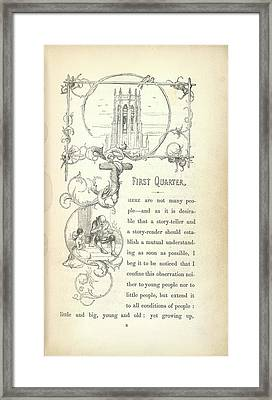 A Church Framed Print by British Library