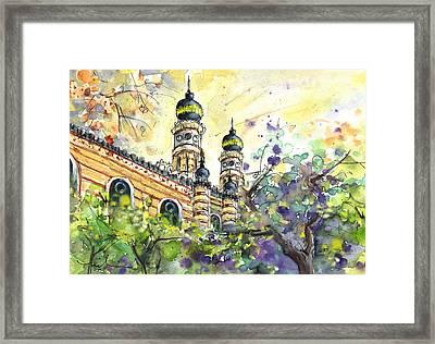A Church In Budapest 01 Framed Print by Miki De Goodaboom