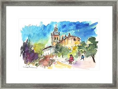A Church In Salamanca Framed Print