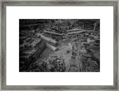 A City Falls Framed Print by David Morefield