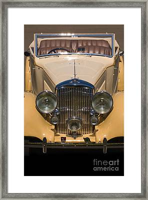A Classic Rolls Royce Framed Print by Ron Sanford