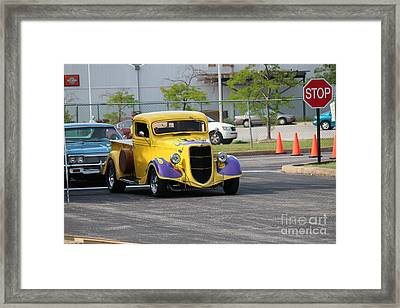 A Classic Truck Framed Print