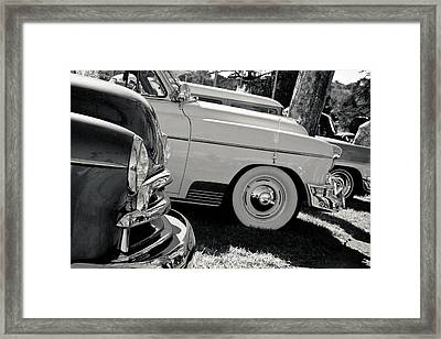 A Classic View Framed Print by Merrick Imagery
