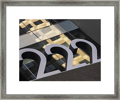 A Close Second - Architectural  Framed Print