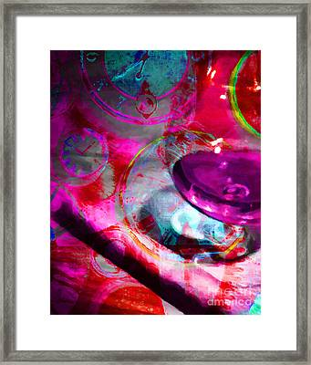 A Cognac Night 20130815m50 Framed Print by Wingsdomain Art and Photography