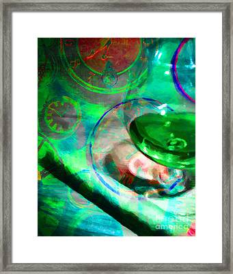 A Cognac Night 20130815p130 Framed Print by Wingsdomain Art and Photography