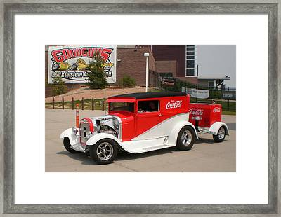 A Coke And A Smile Framed Print