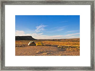 A Cold Night Is Upon Us Framed Print