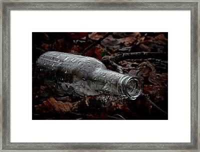 A Cold One Framed Print by Odd Jeppesen