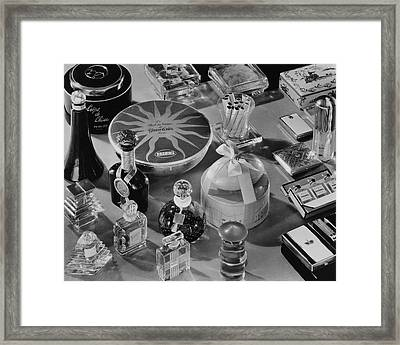 A Collection Of Christmas Gifts Framed Print