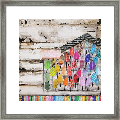A Colorful Existence Framed Print