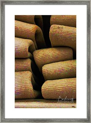 A Colorful Past Framed Print