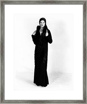 A Connecticut Yankee, Myrna Loy, 1931 Framed Print by Everett