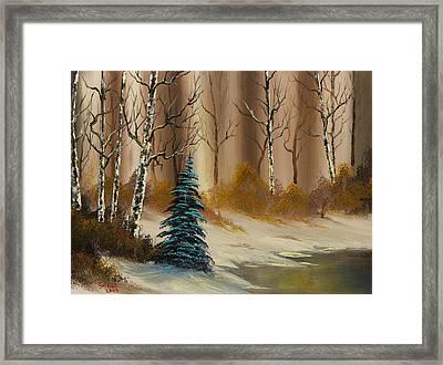 Russet Winter Framed Print