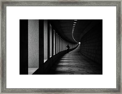 A Corner Framed Print