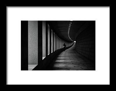 Single Person Framed Prints
