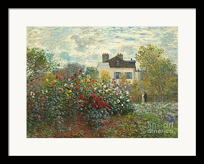 Monet Cards Framed Prints