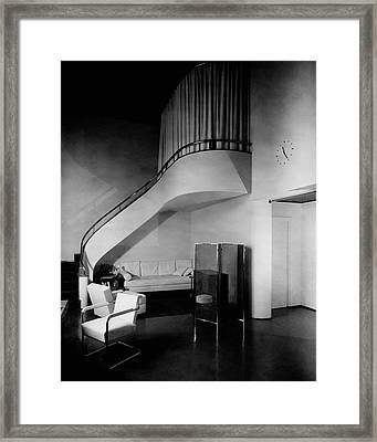 A Corner Staircase Framed Print by Gomez