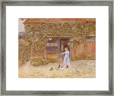 A Cottage At Shere Framed Print
