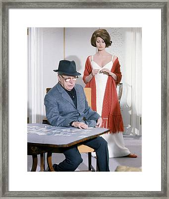 A Countess From Hong Kong  Framed Print by Silver Screen